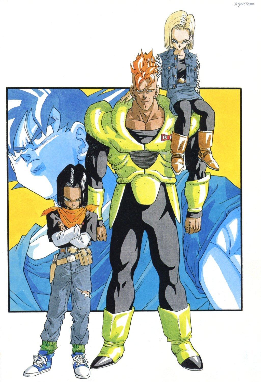 z saga androides 9